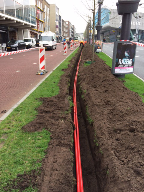 Kabelroute door Arnhem