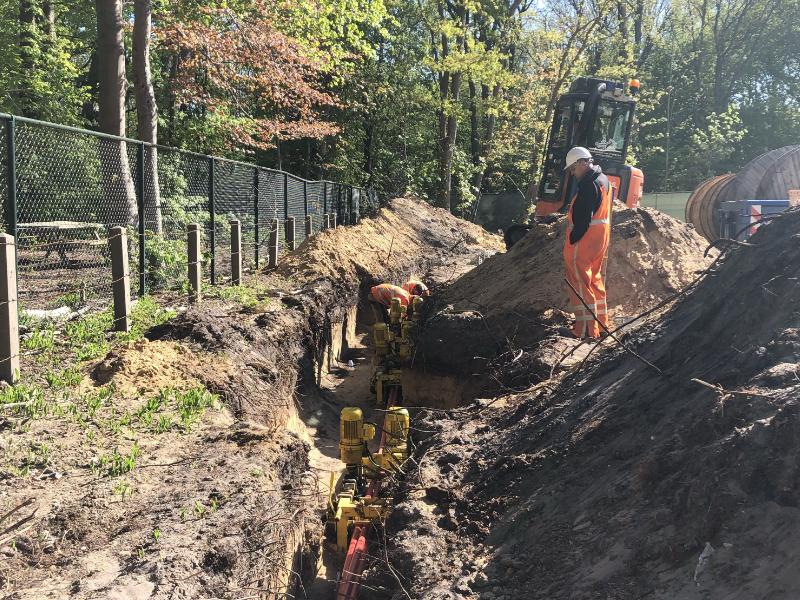 Verlegging kabels & leidingen Amersfoort